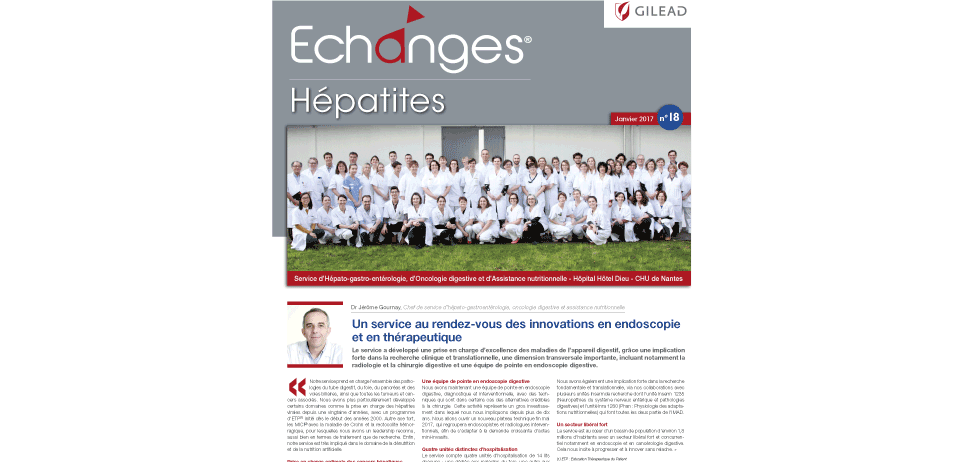 Magazine Echanges Hépatites N°18