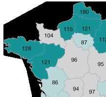 Les maladies digestives en Pays de Loire
