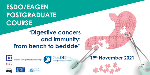 ESDO/EAGEN Postgraduate online course on immunity and digestive cancers