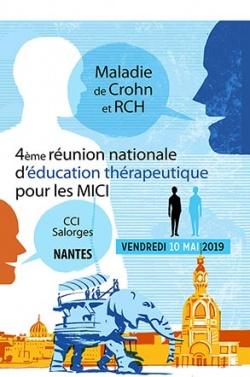 Maladie de Crohn et RCH : réunion nationale d'éducation thérapeutique